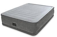 Надувная кровать Intex 64418 152х203х56см с насосом 220В, фото 1