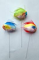Рыбки декоративные на проволоке 5см