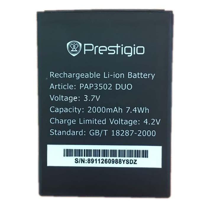 Батарея оригинал Prestigio PAP3502 для мобильного телефона, аккумулятор.