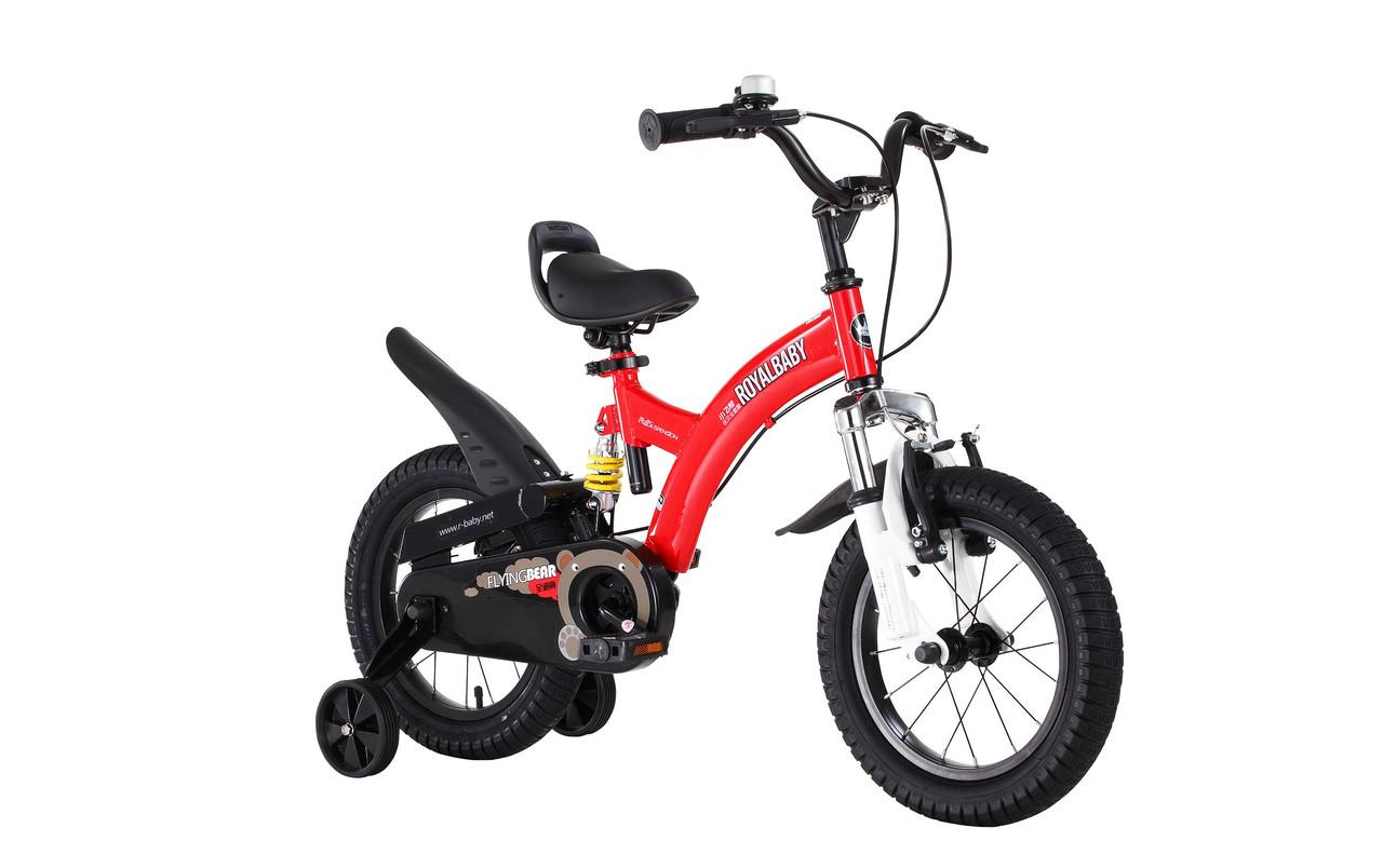 """Велосипед RoyalBaby FLYBEAR 12"""", красный"""