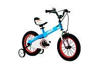 """Велосипед RoyalBaby HONEY 18"""", OFFICIAL UA, синий"""