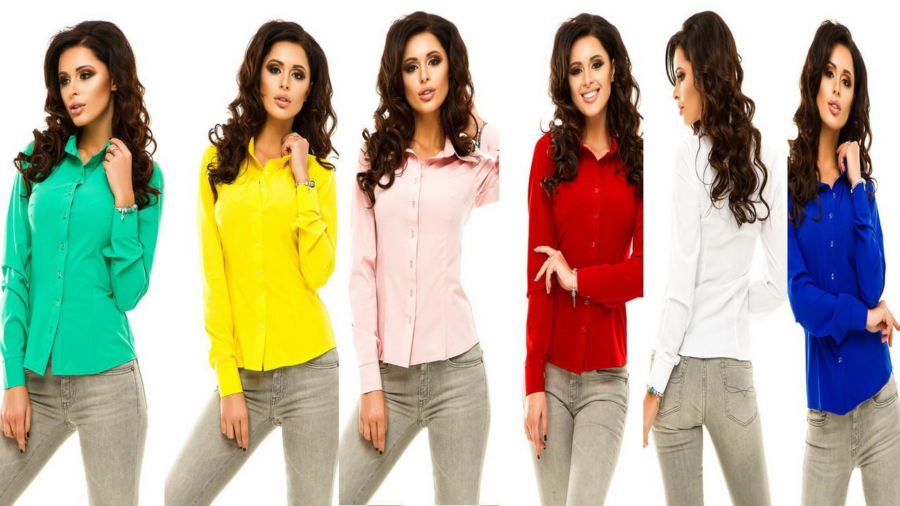 a81000867628 Блузка рубашка женская молодёжная Ассорти цветов № 174 анд - купить ...