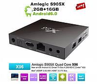 Цифровая ТВ приставка, TV Box XGODY X96 Android 6.0 Quad Core, RAM 2Gb, 16GB встроенная память