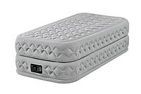 Надувная кровать Intex 64462 Fiber-Tech 99х191х51см с насосом 220В