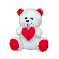 Мягкая игрушка Медвежонок с сердцем арт.111