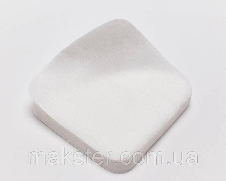 Салфетки одноразовые, 20см х20см, сетка, 40 г/м2, белые, 100шт.