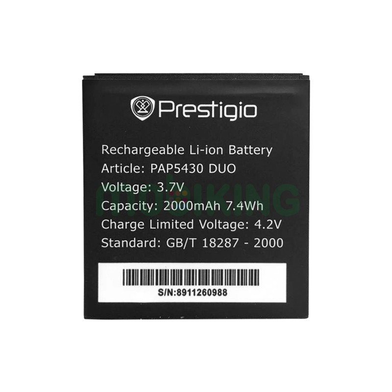 Батарея оригинал Prestigio PAP5430 для мобильного телефона, аккумулятор.
