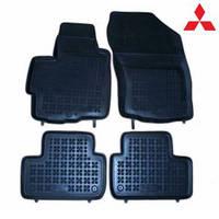 Коврики резиновые модельные Mitsubishi ASX 2010-... (4 шт.)  Rezaw-Plast 202306
