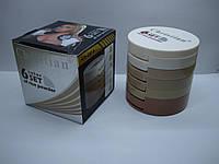 Пудра-корректор на рисовой основе 6 Color In 1 Set Christian, фото 1