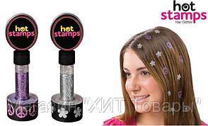 Набор Hot stamps для волос!Акция, фото 2
