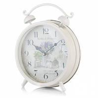 Часы Будильник Лаванда 21 см