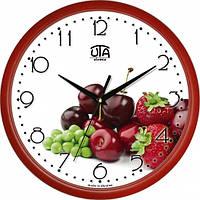 Настенные Часы Сlassic Лесная Ягода Red