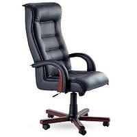 Кресло для руководителя Роял Люкс вишня Неаполь N-20