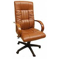 Кресло для руководителя Консул НВ, кожзам коричневый (622-B HIGH-BACK BROWN PU+PVC ,HL018 MECH)