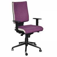 Кресло компьютерное Спейс Алюм HB Papermoon-014/боковины Неаполь N-50