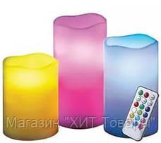 """Набор светодиодных свечей """"Luma Candles 12 цветов !Акция, фото 3"""