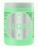 Kallos Algae  маска для волос c экстрактом водорослей и оливковым маслом 1000 мл.
