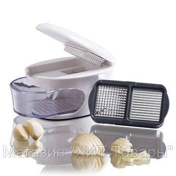 Измельчитель чеснока 3 в 1 Garlic press!Акция, фото 2