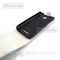 Чехол книжка (флип) для смартфона Lenovo (Леново) A390 (белый, white)