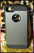 Чехол для Apple iPhone 7 (черный с серым)