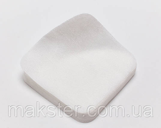 Салфетки одноразовые гладкие, 20см х20см, 50 г/м2, 100шт., фото 2