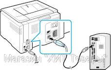Соединительный кабель для принтера Ocean USB - USB B 3м!Акция, фото 2