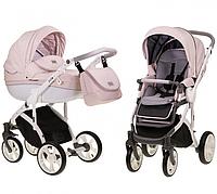 Детская универсальная коляска Mioobaby Zoom Pink/white/gr (2 в1) купить оптом и в розницу в Украине 7 километр