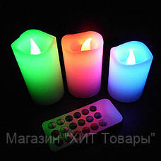 """Набор светодиодных свечей """"Luma Candles 12 цветов , фото 2"""
