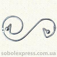 Крючки настенные металлические, 2 крючка