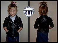 Детская курточка из эко кожи для девочки
