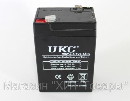Аккумулятор BATTERY GD 640 6V 4A, фото 2