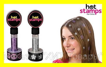 Набор Hot stamps для волос, фото 2
