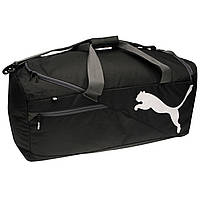 Спортивная сумка Puma Fundamentals Large Bag Black 80L Оригинал Чёрный цвет