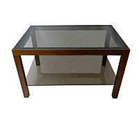 Стеклянный журнальный столик Идеал ДС-14