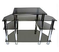 Стеклянный столик под ТВ-25