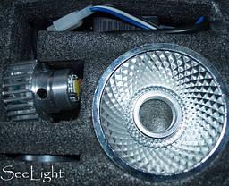 Светодиодная фара в мотоцикл 20W  960/1800 LUMEN в основной свет, фото 2