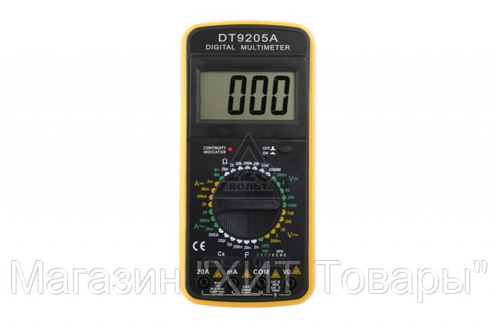 Цифровой тестер мультиметр DT-9205 (A/M)!Акция, фото 2