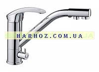 Смеситель для кухни с переключением на питьевую воду Haiba (Хайба) Mars 021 (кухня)