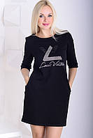 Платье трикотаж LV.
