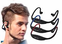 Беспроводные портативные Bluetooth-гарнитура с МР3 плеером Wrap Around спортивные наушники для бега
