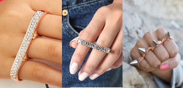 Кольцо на несколько пальцев фото