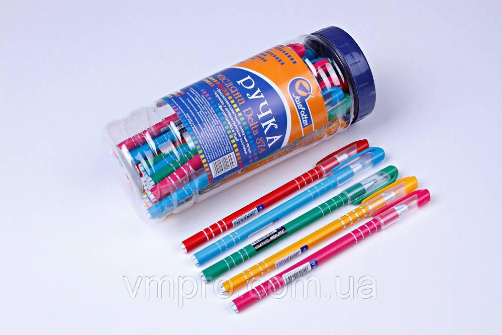 """Ручки шариковые Josef Otten """"DELTA"""" №874,синие,0.6 mm,30 шт/банке"""