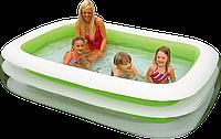 Детский надувной бассейн. Семейный Intex 56483 (262х175х56 см.)