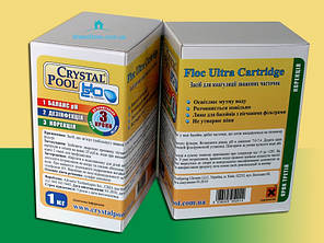 Crystal Pool Floc Ultra Cartridge 1 кг, фото 2