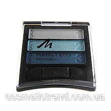 Тіні для повік потрійні Manhattan Perfect Eyes 101b/78k/87z pool party (Німеччина)