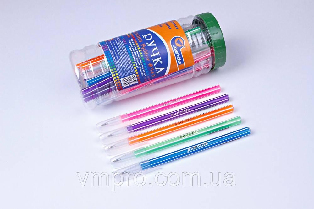 """Ручки шариковые Josef Otten """"Figter"""" №543,синие,0.6 mm,30 шт/банке"""