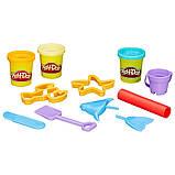 Набор Play-Doh в мини-ведёрке (пластилин+формочки), фото 3
