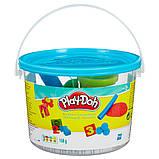 Набор Play-Doh в мини-ведёрке (пластилин+формочки), фото 4