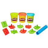 Набор Play-Doh в мини-ведёрке (пластилин+формочки), фото 5