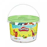 Набор Play-Doh в мини-ведёрке (пластилин+формочки), фото 8